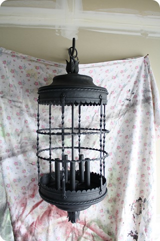 bird cage light fixture